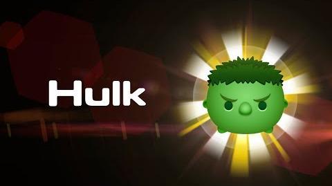 Hulk Skills Intro MARVEL Tsum Tsum