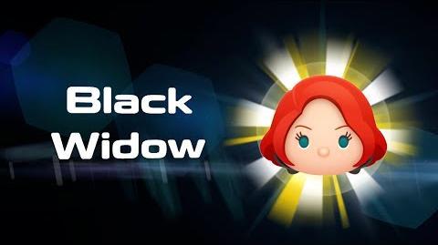 Black Widow Skills Intro MARVEL Tsum Tsum