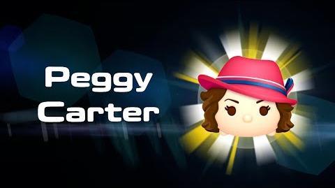 Peggy Carter Skills Intro MARVEL Tsum Tsum