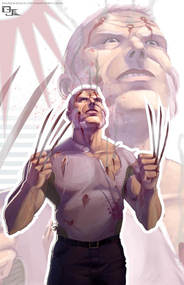 Wolverine Old Man Logan by DarkKenjie