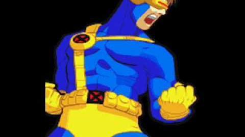 Marvel Super Heroes Vs Street Fighter-Theme of Cyclops