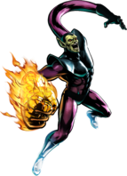 Super-Skrull UMvC3 artwork
