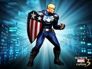 Captain America UMvC3 DLC costume