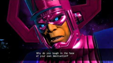 UMVC3 Galactus Quotes