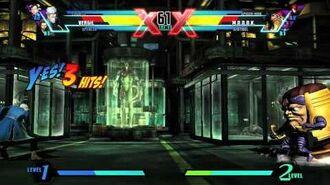 Vergil Character Vignette - Ultimate Marvel vs. Capcom 3