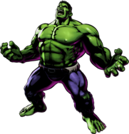 Hulk UMvC3 artwork
