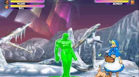 Marvel vs. Capcom 2 Arcade - play as 2nd Abyss-1432352887