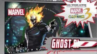 Ghost Rider - Character Vignette - ULTIMATE MARVEL VS CAPCOM 3