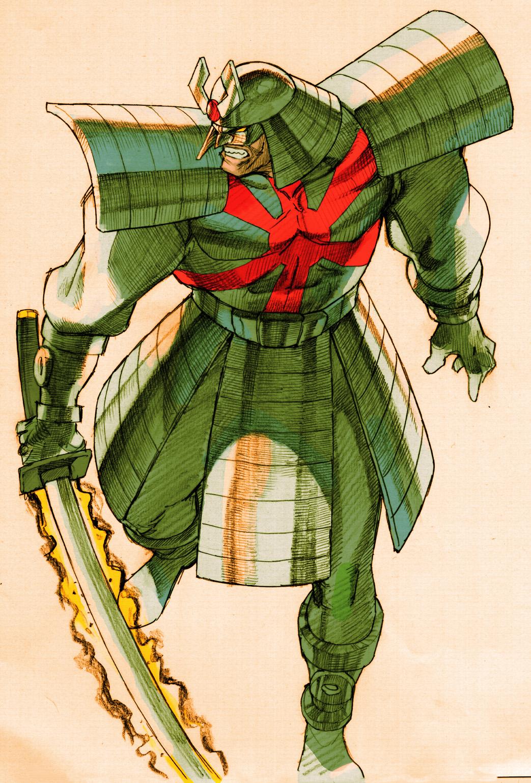Silver Samurai | Marvel vs. Capcom Wiki | FANDOM powered ...  Silver Samurai ...