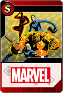 Fantastic Four - Heroes and Heralds card