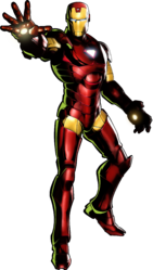 Iron Man UMvC3 artwork