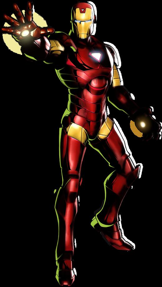 Iron Man UMvC3 artwork