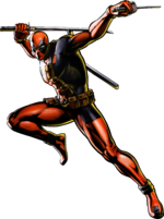 Deadpool UMvC3 artwork