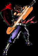 Strider Hiryu UMvC3 artwork