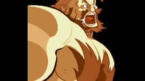 Marvel Super Heroes Vs Street Fighter-Theme of Zangief