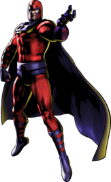 Magneto UMvC3 artwork