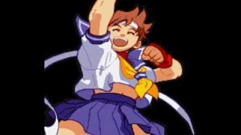 Marvel Super Heroes Vs Street Fighter-Theme of Sakura
