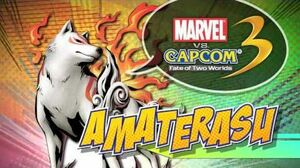 Comic-Con Amaterasu Gameplay - MARVEL VS