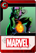 Green Goblin - Heroes and Heralds card
