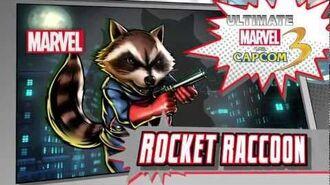 Rocket Raccoon Character Vignette - Ultimate Marvel vs. Capcom 3