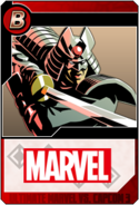 Silver Samurai - Heroes and Heralds card