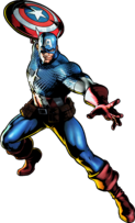 Captain America UMvC3 artwork