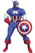 Captain America MvC artwork
