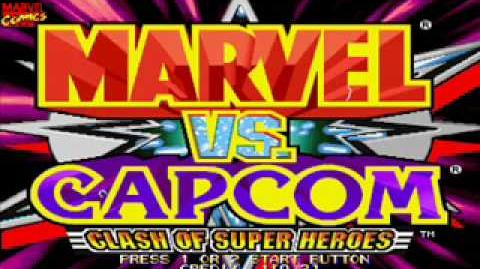 Marvel vs Capom OST- 27 - Hidden Character's Theme