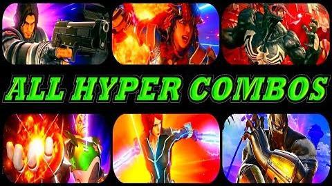 Marvel Vs Capcom Infinite - All Hyper Combos All New DLC PS4 By - S.N GAMER