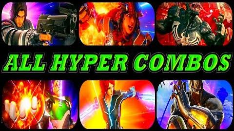 Marvel Vs Capcom Infinite - All Hyper Combos All New DLC PS4 By - S.N GAMER