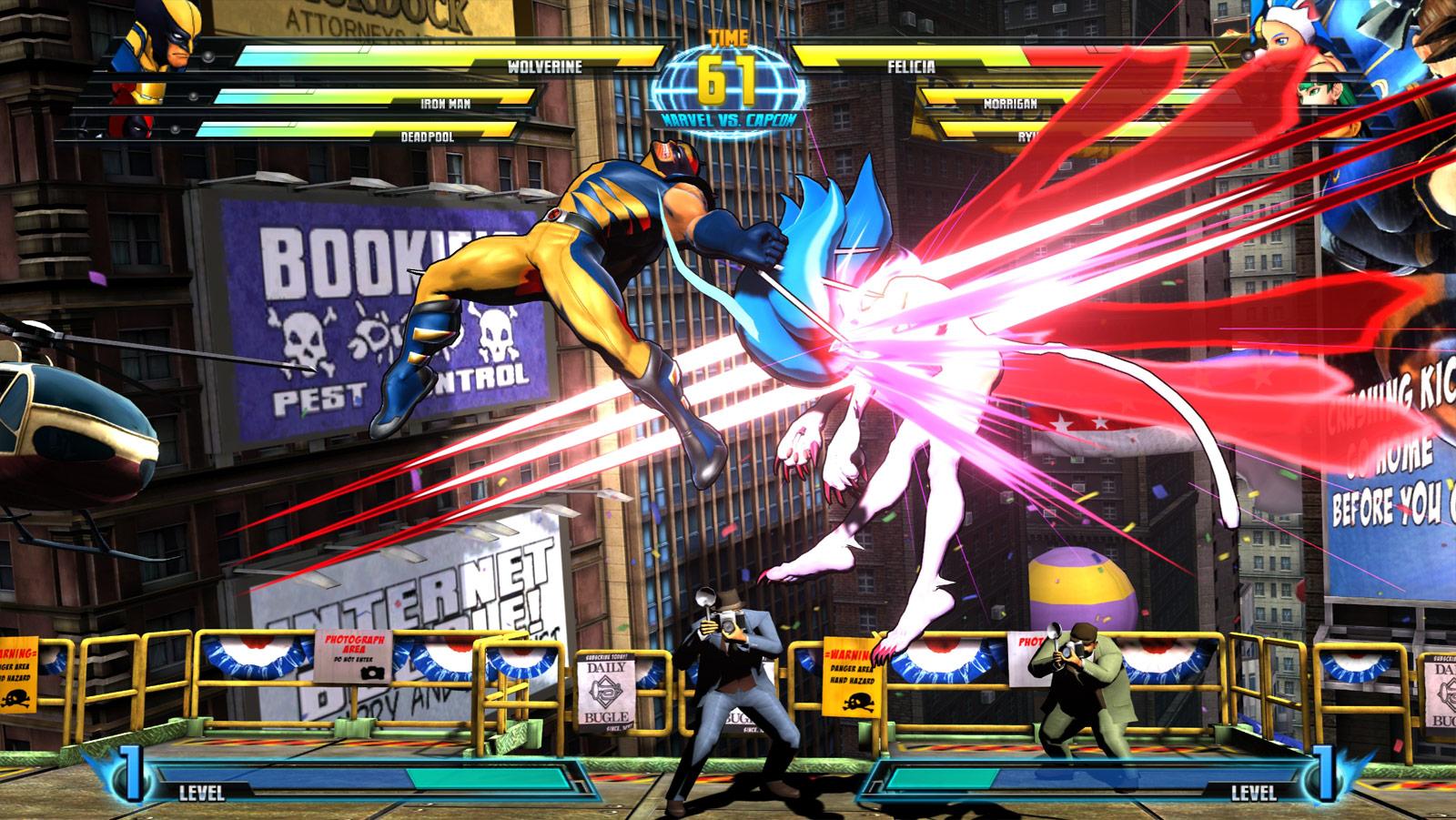 Ideas For Ultimate Marvel Vs Capcom 3 Wolverine Wallpaper