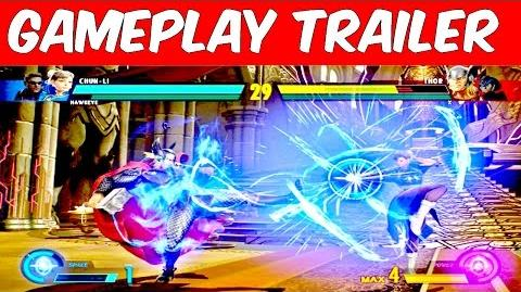 Marvel vs Capcom Infinite - Gameplay Trailer 2 2017 PS4