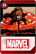 Red Hulk - Heroes and Heralds card
