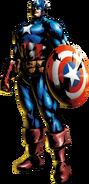Captain America MvC3 artwork