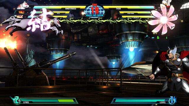 File:MARVEL VS. CAPCOM 3 - Amaterasu vs.jpg