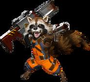 Rocket Raccoon MvCI render