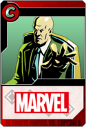 Professor X - Heroes and Heralds card