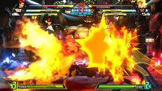 Burning kick