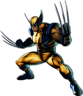 Wolverine UMvC3 artwork