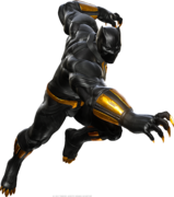 Black Panther MvCI render