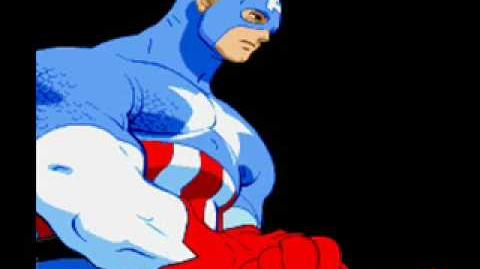 Marvel Super Heroes Vs Street Fighter-Theme of Captain America