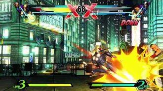 Nova Character Vignette - Ultimate Marvel vs. Capcom 3