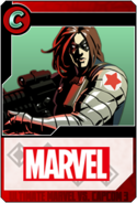 Winter Soldier - Heroes and Heralds card