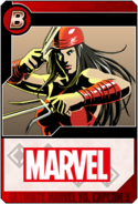 Elektra - Heroes and Heralds card
