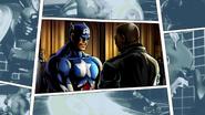 Captain America ending 1 MvC3