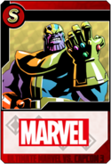 Thanos - Heroes and Heralds card