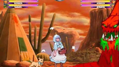 Marvel vs. Capcom 2 Arcade - play as 3rd Abyss-3
