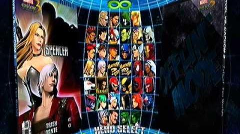 Marvel vs Capcom 3 Ultimate Arcade Showdown! ~ Choosing the Team