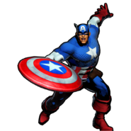 Captain America UMvC3 victory pose