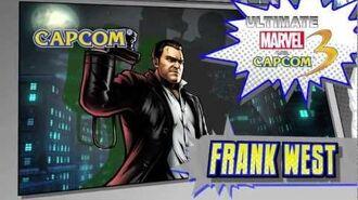 Frank West Character Vignette - Ultimate Marvel vs. Capcom 3